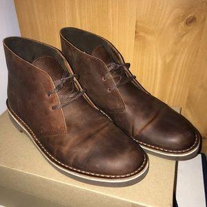 👞EUC Clarks Bushacre 2 Chukkas dark brown 11 1/2